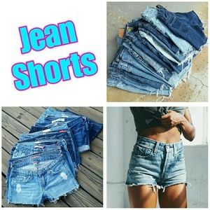 Jean Shorts ● All Sizes ● All Brands ● All Styles